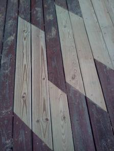 Decking replacement (patching)