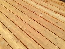 Hidden fastener system on cedar deck in Downers Grove. A-Affordable Decks