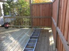 (After) Wheaton deck. A-Affordable Decks 2016