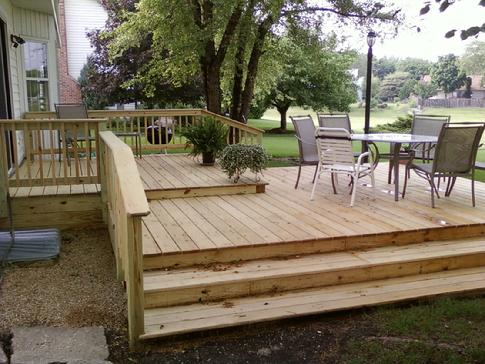 Bloomingdale Illinois deck builder contractor A-Affordable Decks