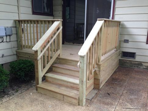 Lisle IL small deck replacement 2015